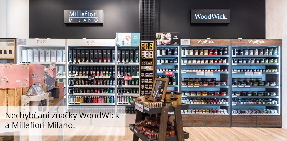 WoodWick a Millefiori Milano